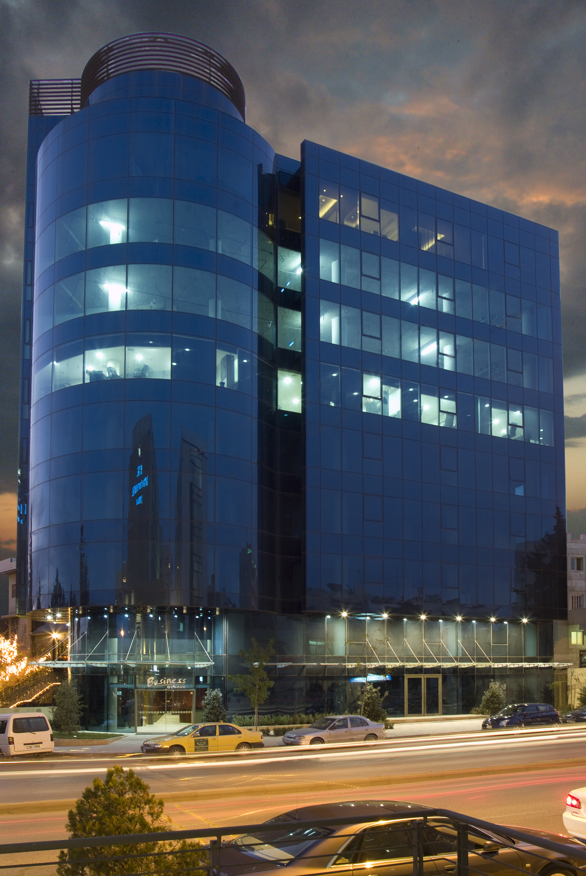 Curtain Wall Petra Aluminium